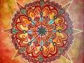 Orange Mandala (SOLD)