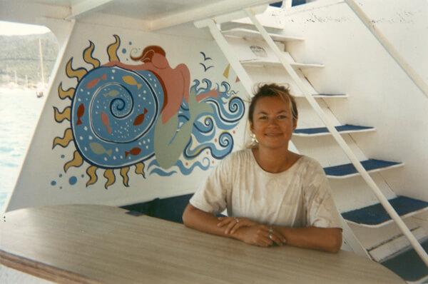 Ann-Marie Cheung - St Maarten, Caribbean 94