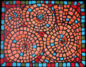 Stained Glass Doodle 2012 - acrylic on canvas