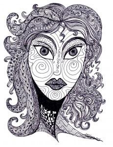 Goddess Doodle