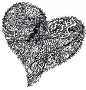 Doodle Heart 2013