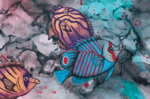 Caribbean Fish Painting