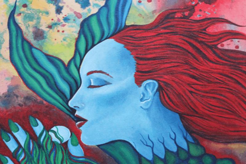 Caribben Mermaid Painting