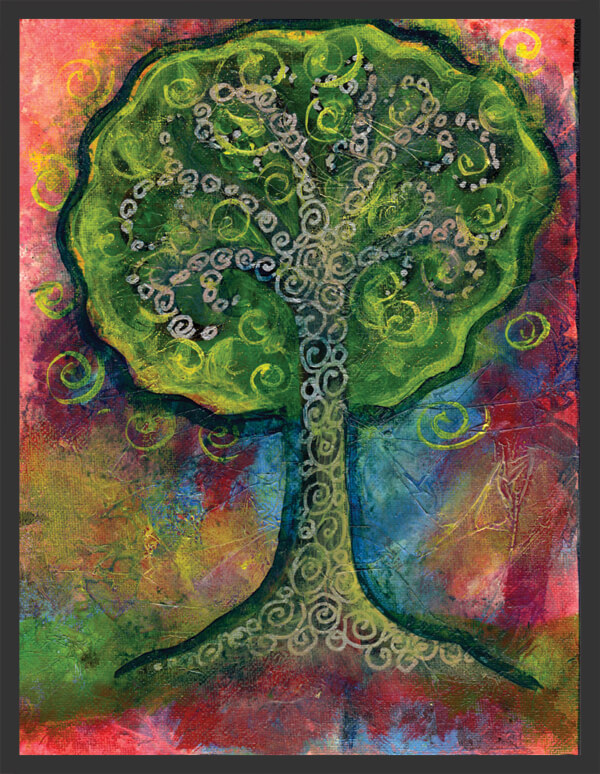 Green Tree by Ann-Marie Cheung