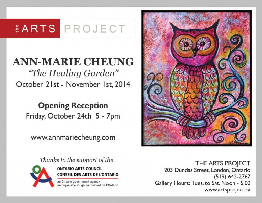 Ann-Marie Cheung at The Arts Project