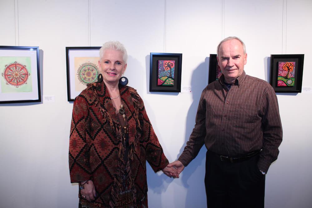 Proud owners, Gail & Bob McNaughton
