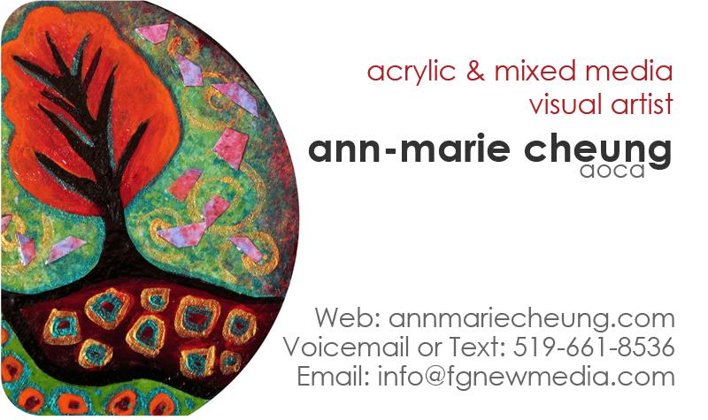 ann-marie cheung aoca acrylic & mixed media artist
