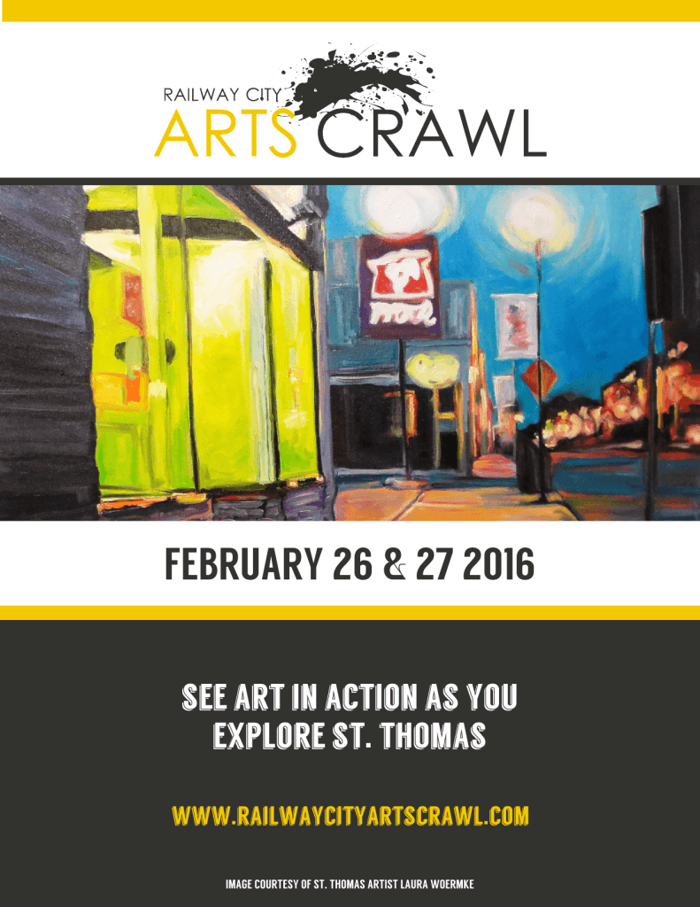 Arts Crawl Poster 2016