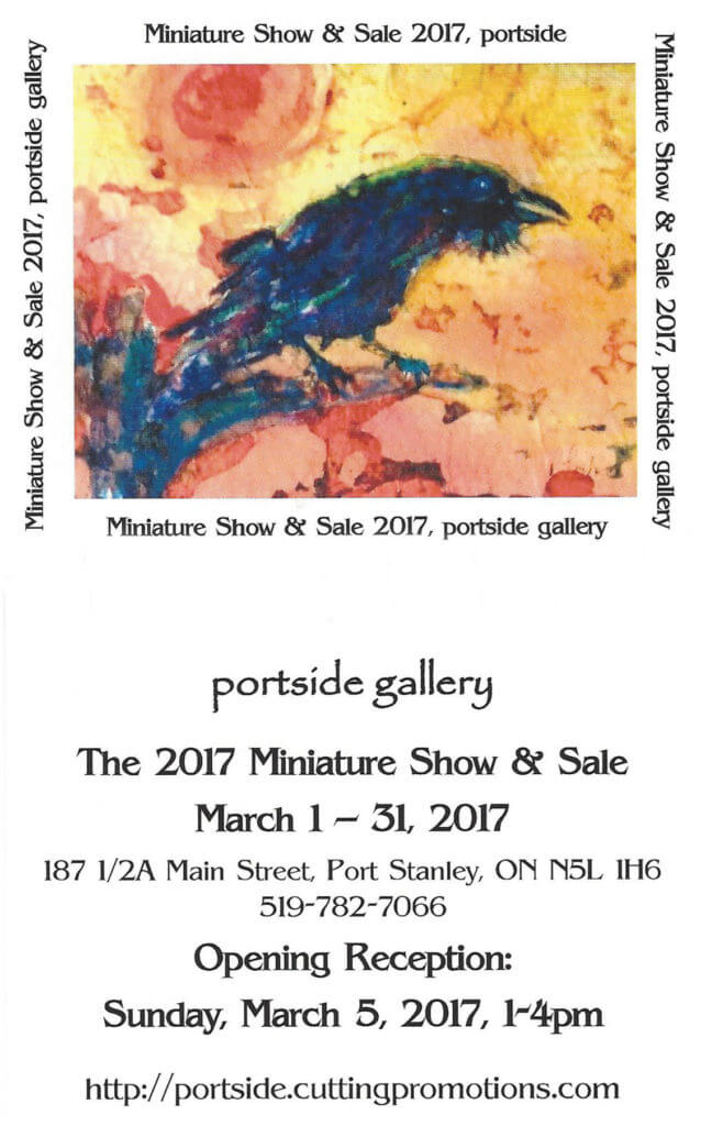 Miniature Show & Sale at Portside