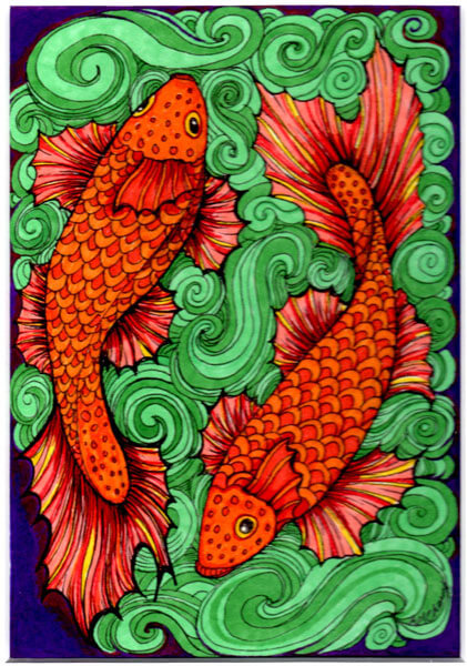 Two Fish by Ann-Marie Cheung