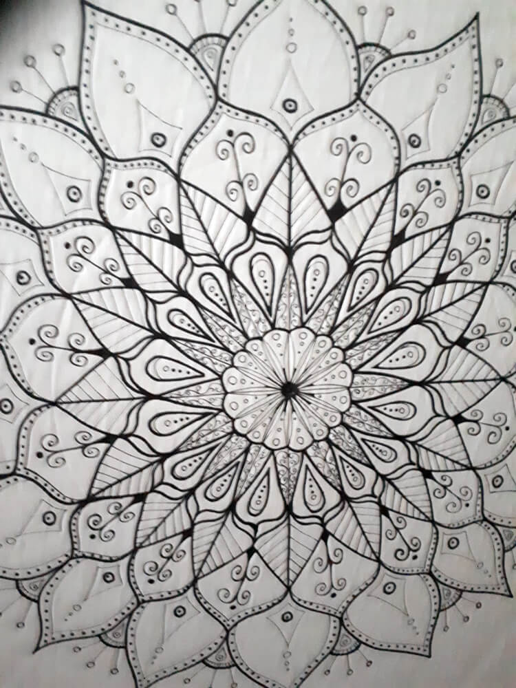 Mandala at the Arts Crawl