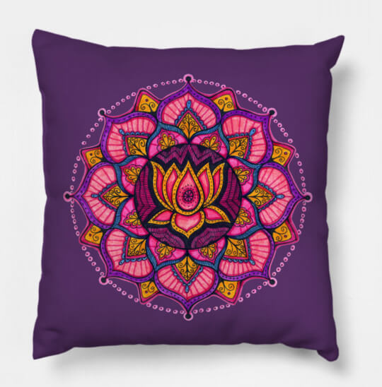 Throw pillow art by Ann-Marie Cheung
