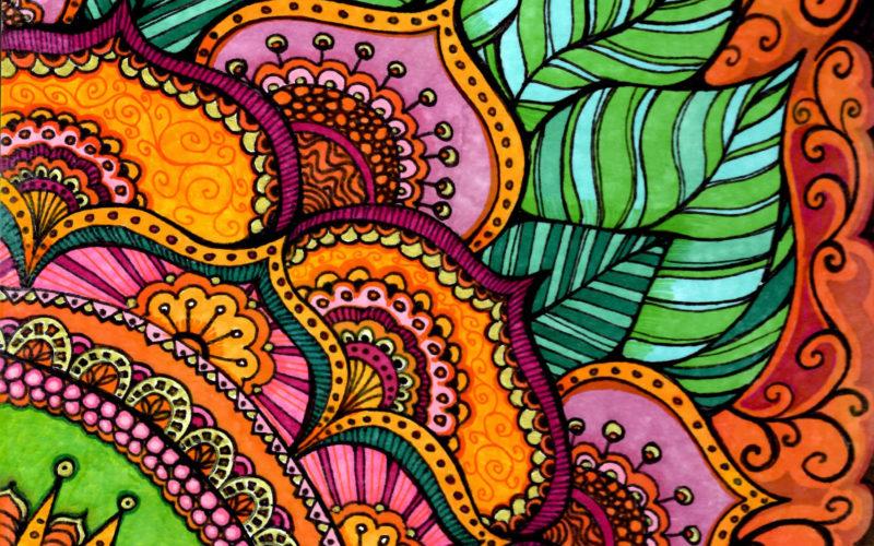 Floral Mandala by Ann-Marie Cheung